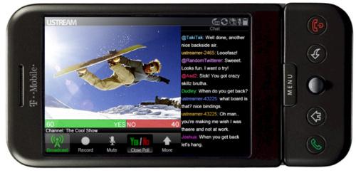 Ustream videostreaming nu beschikbaar voor Android