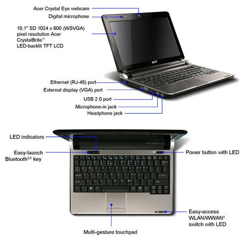 Acer Android notebook