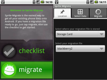 Sprite Migrate