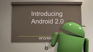 Google laat preview van Android 2.0 zien