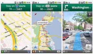 google android navigatie