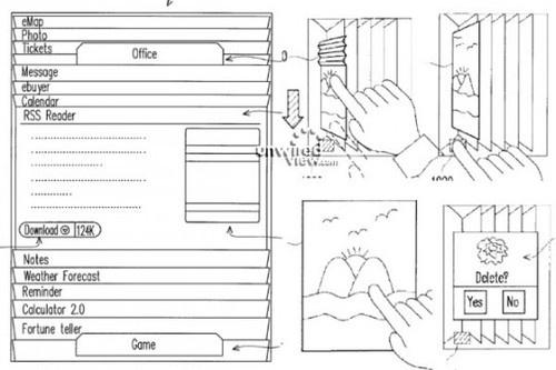 htc virtual book patent