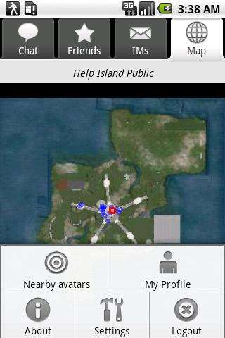 Second Life op je Android-toestel: Mobile Grid Client