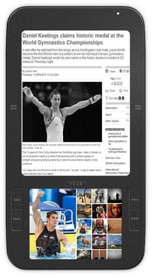 Alex van Spring Design, de eerste ebooklezer op Android