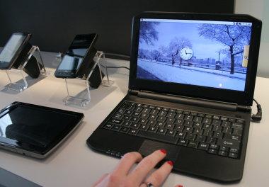 Lenovo werkt aan Android smartbook met 1GHz Snapdragon-processor