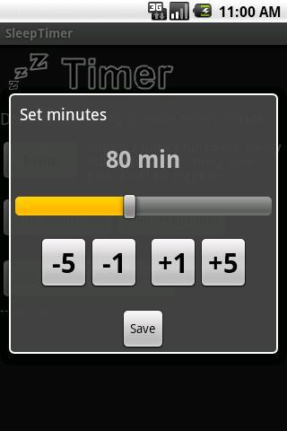 Sleeptimer for Android zorgt voor echt relaxed muziek luisteren