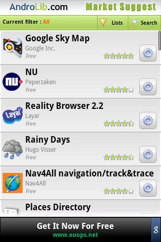 Review: Market Suggest, ontdek nieuwe Android-applicaties