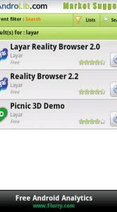 Met de zoekfunctie vind je alle apps van een bepaalde ontwikkelaar.