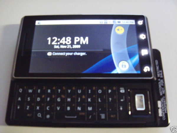 Prototype van Motorola Droid op eBay verschenen