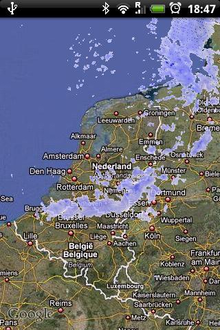 Rainy Days: Google Maps meets BuienRadar