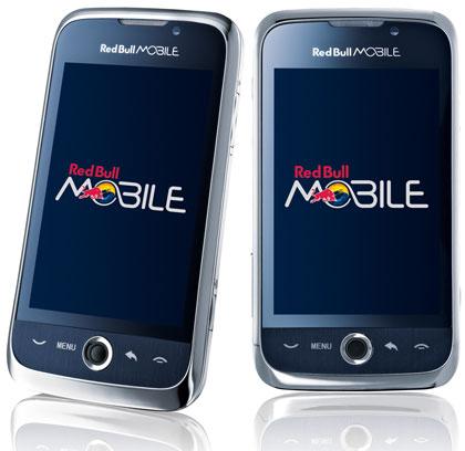 Red Bull Mobile brengt Android-telefoon op de markt