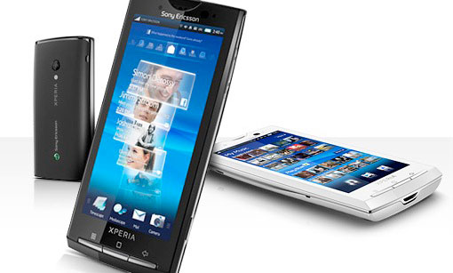 Sony Ericsson Xperia X10 heeft geen multitouch