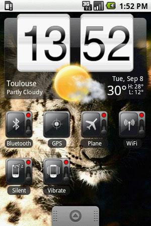 Beautiful Widgets uit de Android Market gehaald op verzoek van HTC