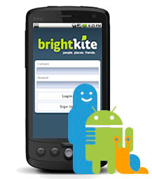brightkite android