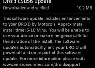 Bezitters Motorola Droid melden eerste updates naar Android 2.0.1
