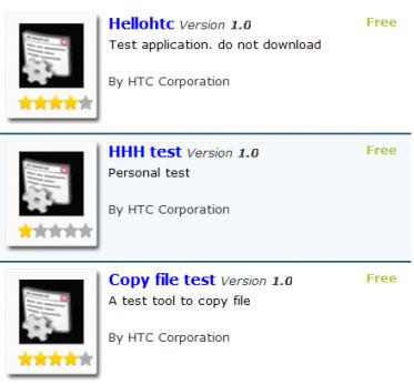 htc widgets