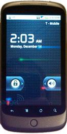 De eerste vergelijking: Nexus One vs iPhone vs Milestone