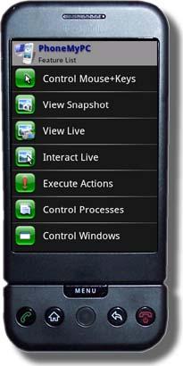 PhoneMyPC: Windows-pc op afstand bedienen vanaf je Android-toestel