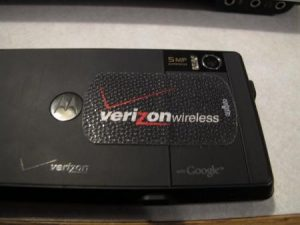 verizon batterijklep droid