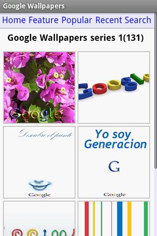 Voor de echte Google-fans: Google-wallpapers voor Android