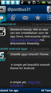 Donker thema