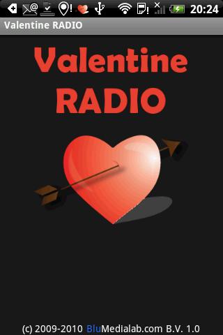 Valentine Radio: easy listening-radio op je Android-telefoon