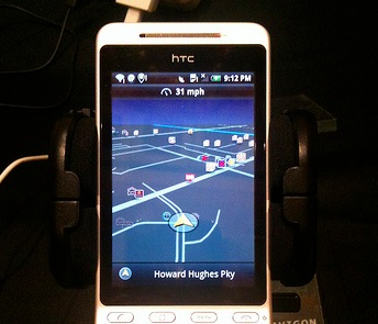 htc hero met navigon