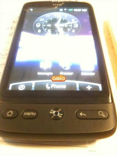 HTC Bravo in het wild gesignaleerd