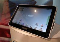 Hands-on met de MSI Android Tablet op CES
