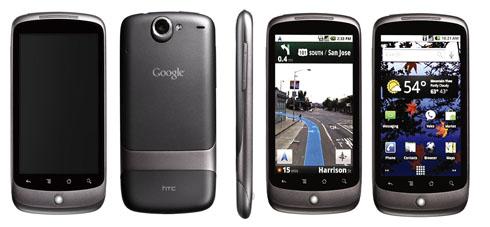 Google Nexus One: verkoopprijs Vodafone Duitsland uitgelekt.