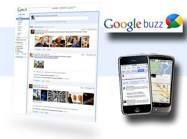Google maakt Gmail sociaal met Buzz