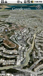Google Earth Android 2.1