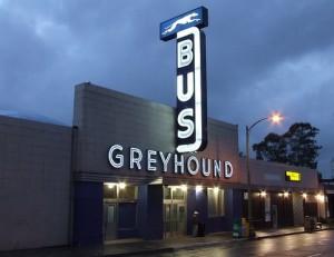 Google Transit Greyhound