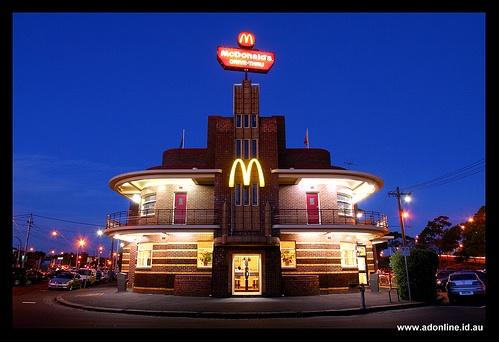 McDonalds iPlacemark: vind wereldwijd McDonalds-vestigingen