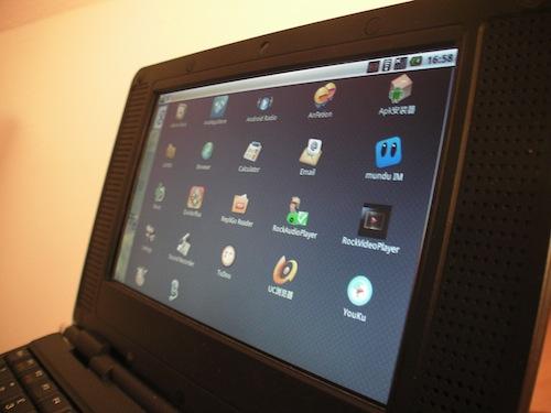 Hivision presenteert goedkoop Android-netbook