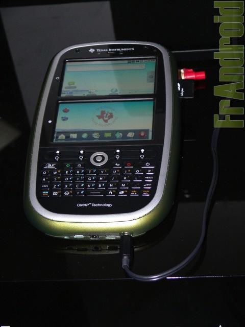 Texas Instruments toont bijzonder Android-concept [MWC2010]