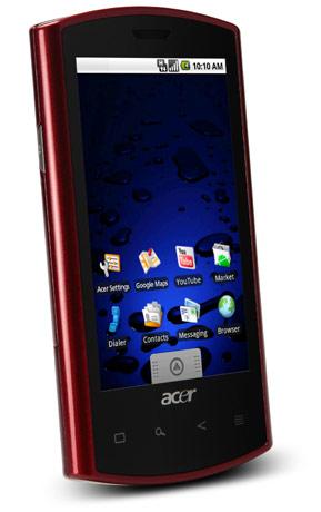 Acer toont 'nieuwe' versie van de Liquid [MWC2010]