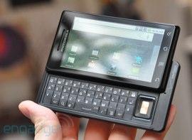 Update naar Android 2.1 voor Motorola Droid