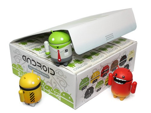 android actiefiguur plastic