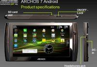 Archos toont twee Android-tablets voor thuis op CeBIT 2010