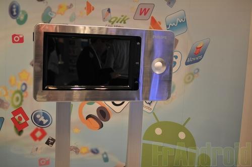 Philips GoGear Connect: mediaspeler met Android 2.1