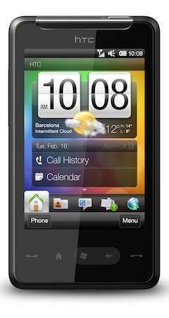 HTC HD mini met Windows Mobile: compacte HD2 [MWC2010]