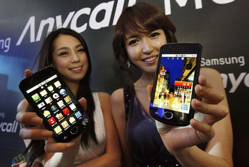 Samsung lanceert Android 2.1 telefoon in Korea