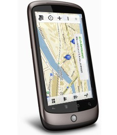 nexus one ovi maps