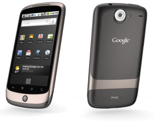 Google Nexus One: tot nu toe 80.000 toestellen verkocht