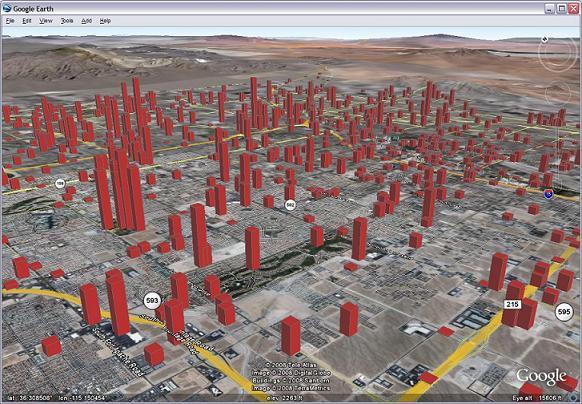Skyhook Las Vegas bekende accesspoints