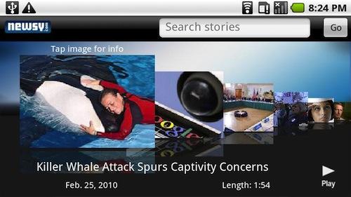 Newsy: video's met wereldnieuws op je Android-telefoon