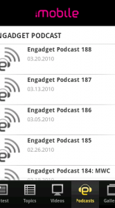 Engadget Android podcast