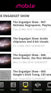 Engadget Android video