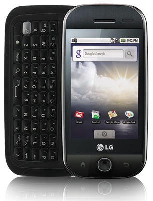 LG GW620 Review: het eerste Android-toestel van LG